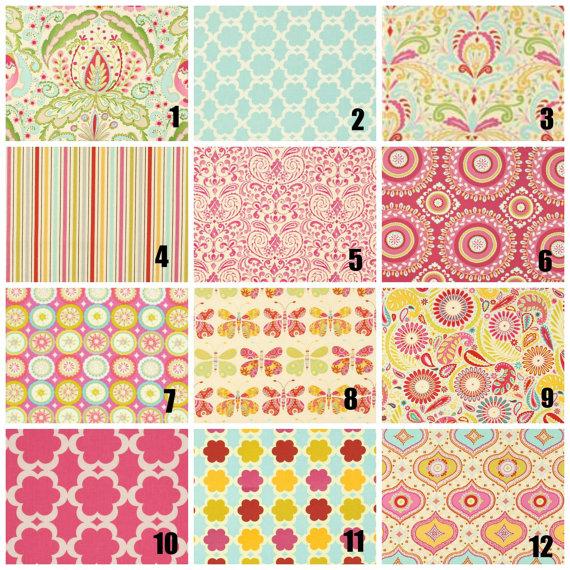 Ruffled Accent Pillow   Kumari Garden Fabric   Large, Small, Or Set   Throw  Pillow   Choose Your Fabrics   MADE TO ORDER