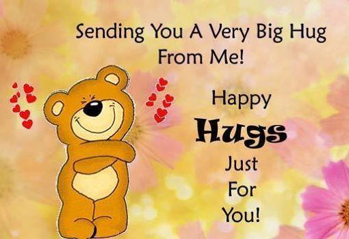 Sending You A Hug Quotes Cute Quote Hug Friendship Quotes Hug Quotes Hugs And Kisses Quotes Happy Hug Day