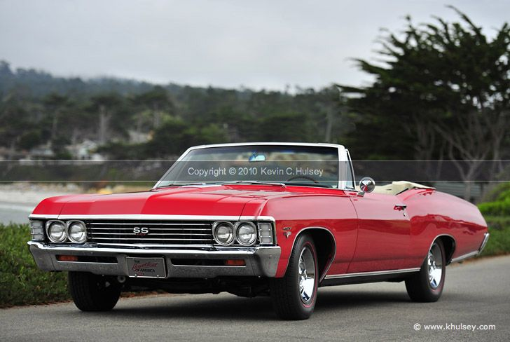 Muscle Car Photos 1967 Chevrolet Impala Ss427 Convertible