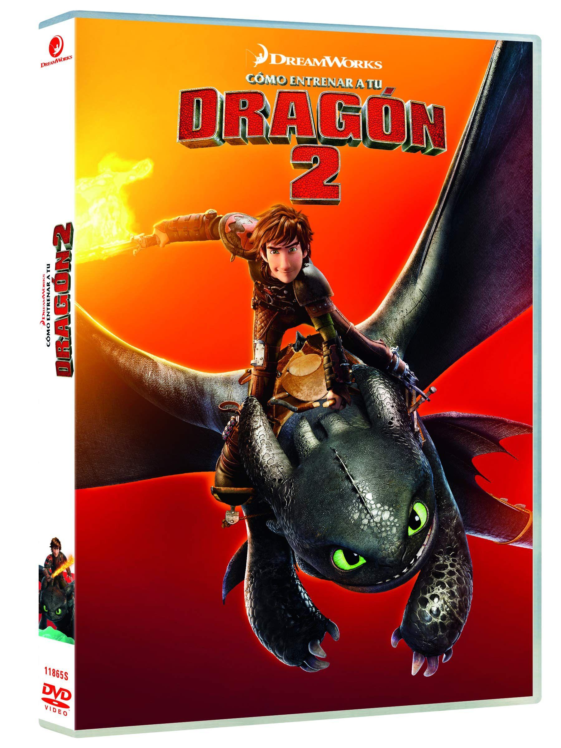 Como Entrenar A Tu Dragon 2 Dvd Entrenar Como Tu Dvd