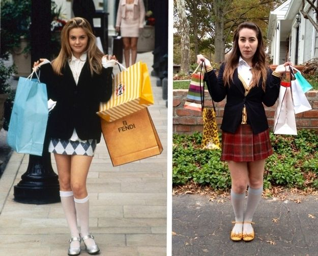 clueless cher 16 diy costumes based on your favorite 90s movie character