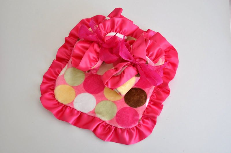 I need to make 10 of these so we have one in each place she could possibly want it- she LOVES soft lovies