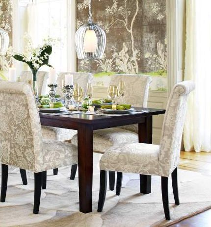 Expand A Floral Motif To Furniture Pieces For Added Glam Home