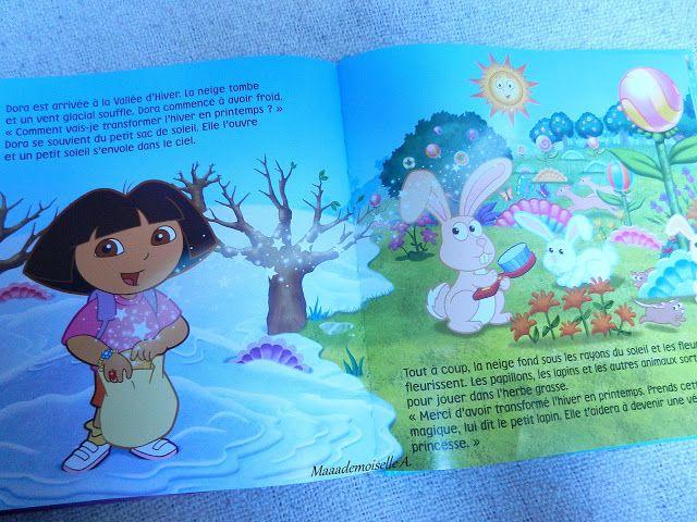 Dora L Exploratrice Les Merveilleuses Aventures De Dora Presentation Avis Chut Les Enfants Lisent 23 Dora L Exploratrice Dora Enfants Lisant