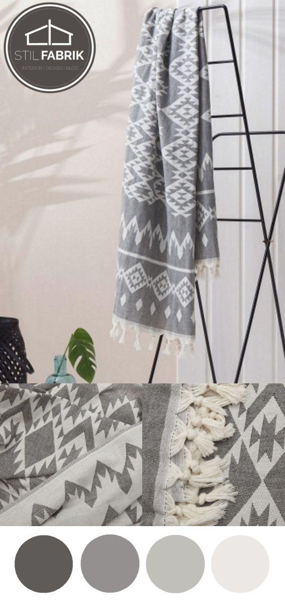 Traditionelle Textilien aus Baumwolle von Peshtemal House Stil - dekoration aus korallfarben ideen