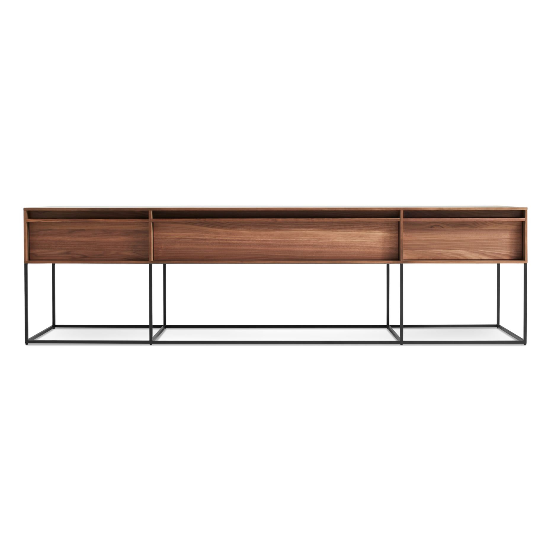 rule long and low low console table