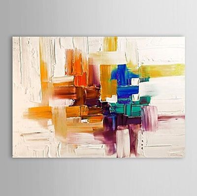 Peint à La Main Toile Peinture Abstraite Toile Art Peinture