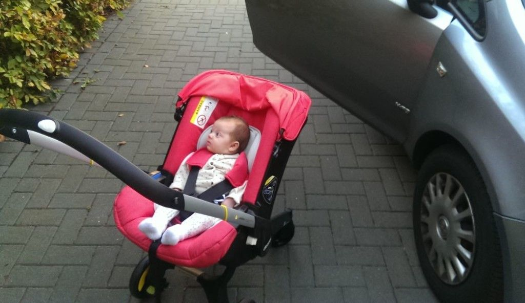 Review A Day Out With The CuddleCo Doona Car Seat