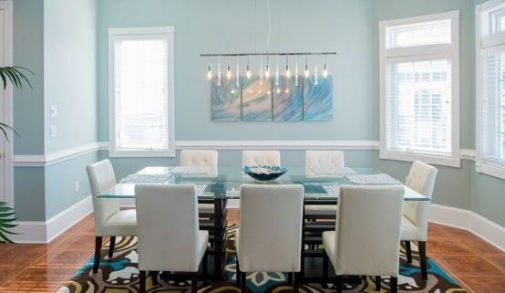26 Relaxing Coastal Dining Rooms And Zones With Images Coastal