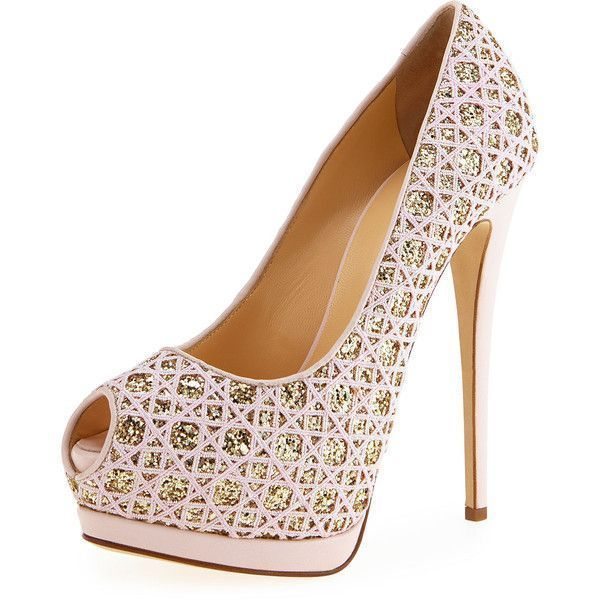 Giuseppe Zanotti Glitter Platform Pumps looking for cheap price online cheap authentic m17hj6X