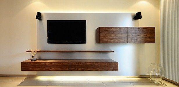 Schwebende Hifi Wohnwand Media Tv Stands Media Rooms Et Al