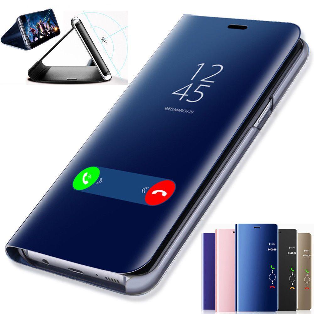 online retailer 87e23 b84d4 $6.43 - Flip Smart Case For Samsung Galaxy S9 Plus 2018 Clear View ...