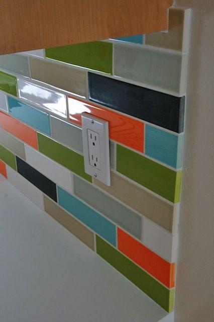 Modwalls Modern Tile Glass Subway Tile Mosaic Modwalls