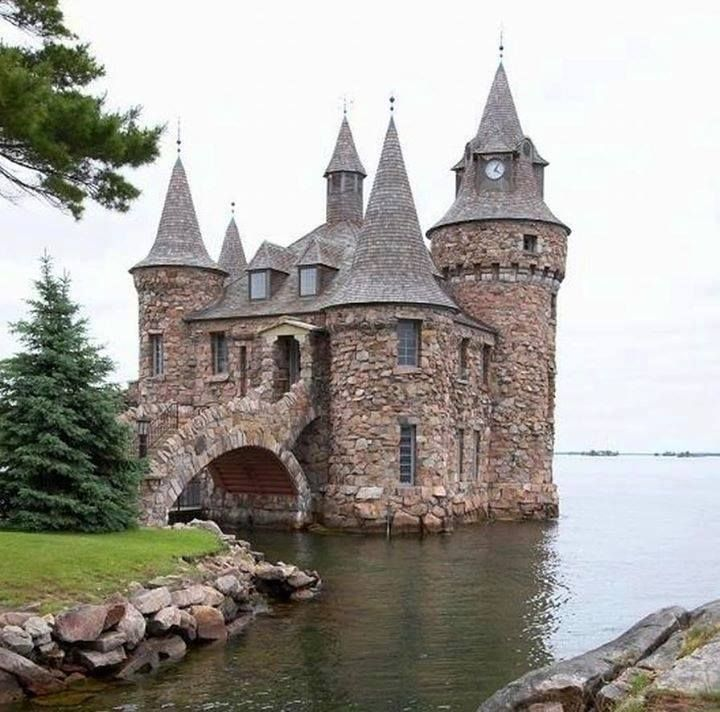 This is an old small castle in alex castles pinterest for Small castle house plans