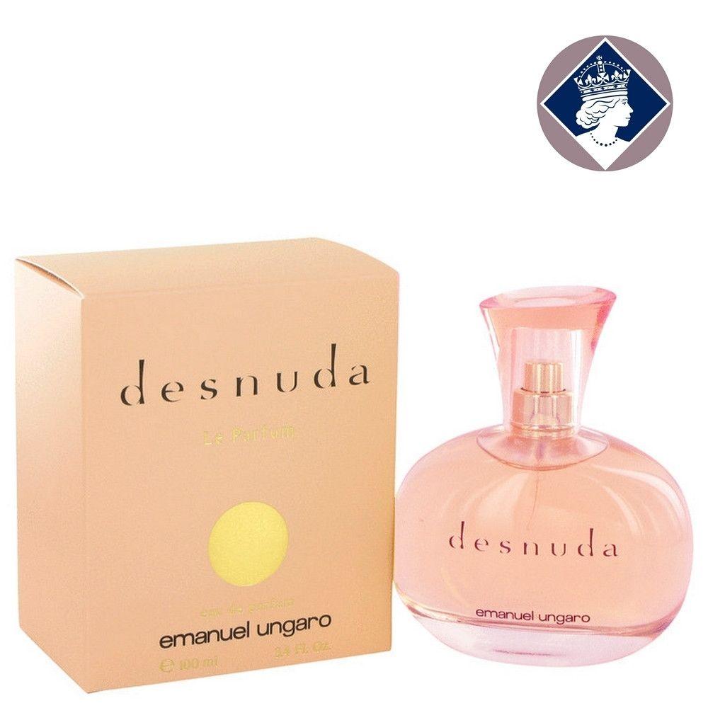 Emanuel Ungaro Desnuda 100ml 34oz Eau De Parfum Spray Perfume Hermes Kelly Caleche For Women Edp Fragrance Her