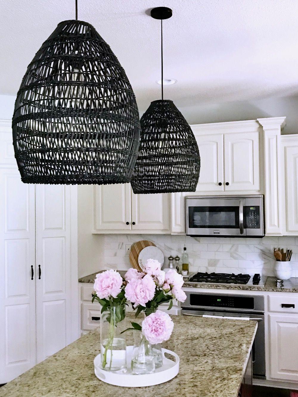 Black Woven Pendant Lights Pendant Lighting Lights Kitchen Pendant Lighting
