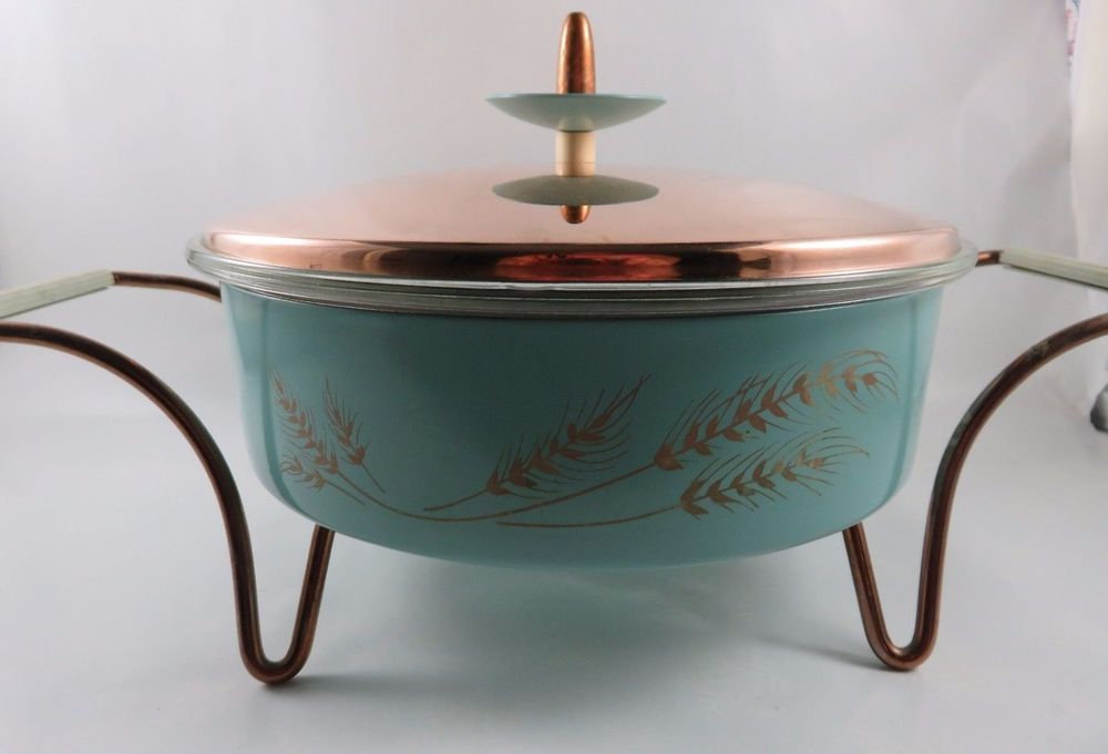 1950 RECHAUD A THE in PYREX made at the U.S.A.