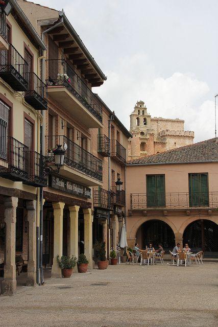 Plaza Mayor de Turégano, Segovia,  Spain
