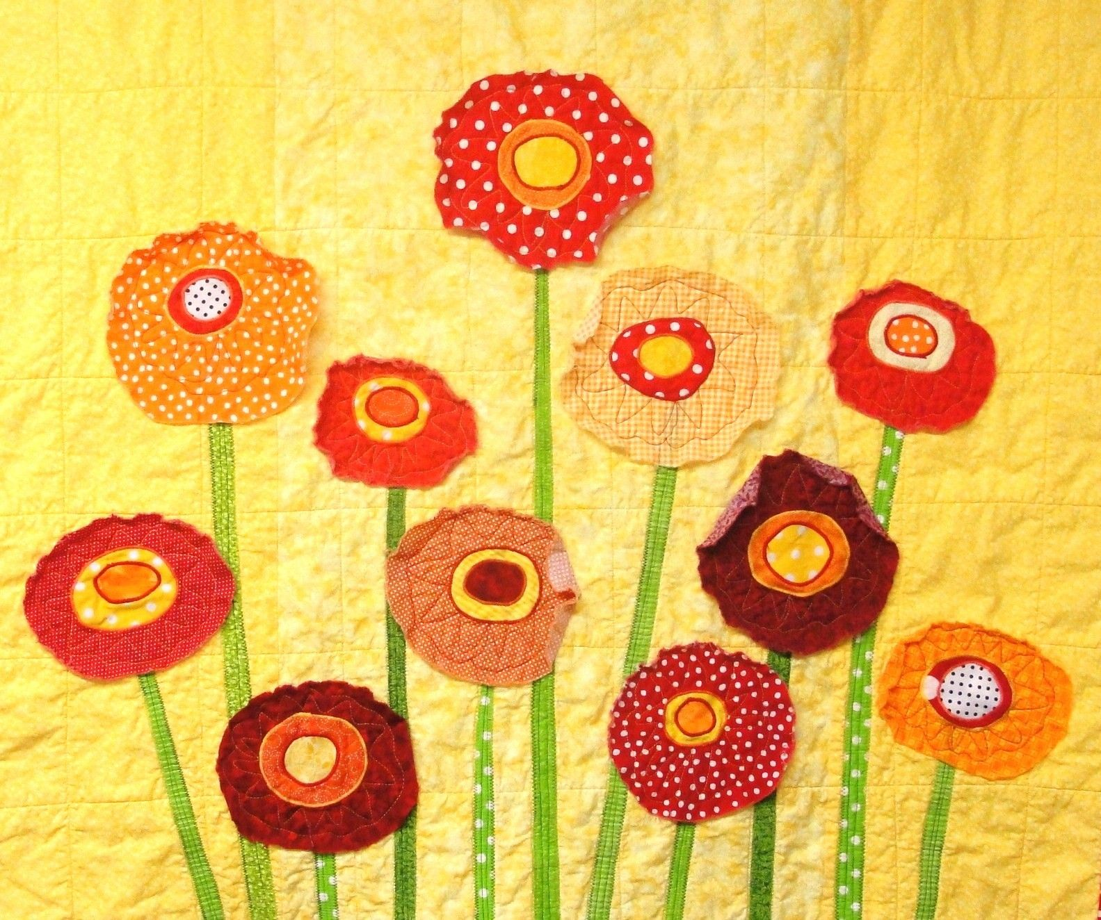 Handmade poppy quilt | Quilts | Pinterest | Quilt baby, Patchwork ...