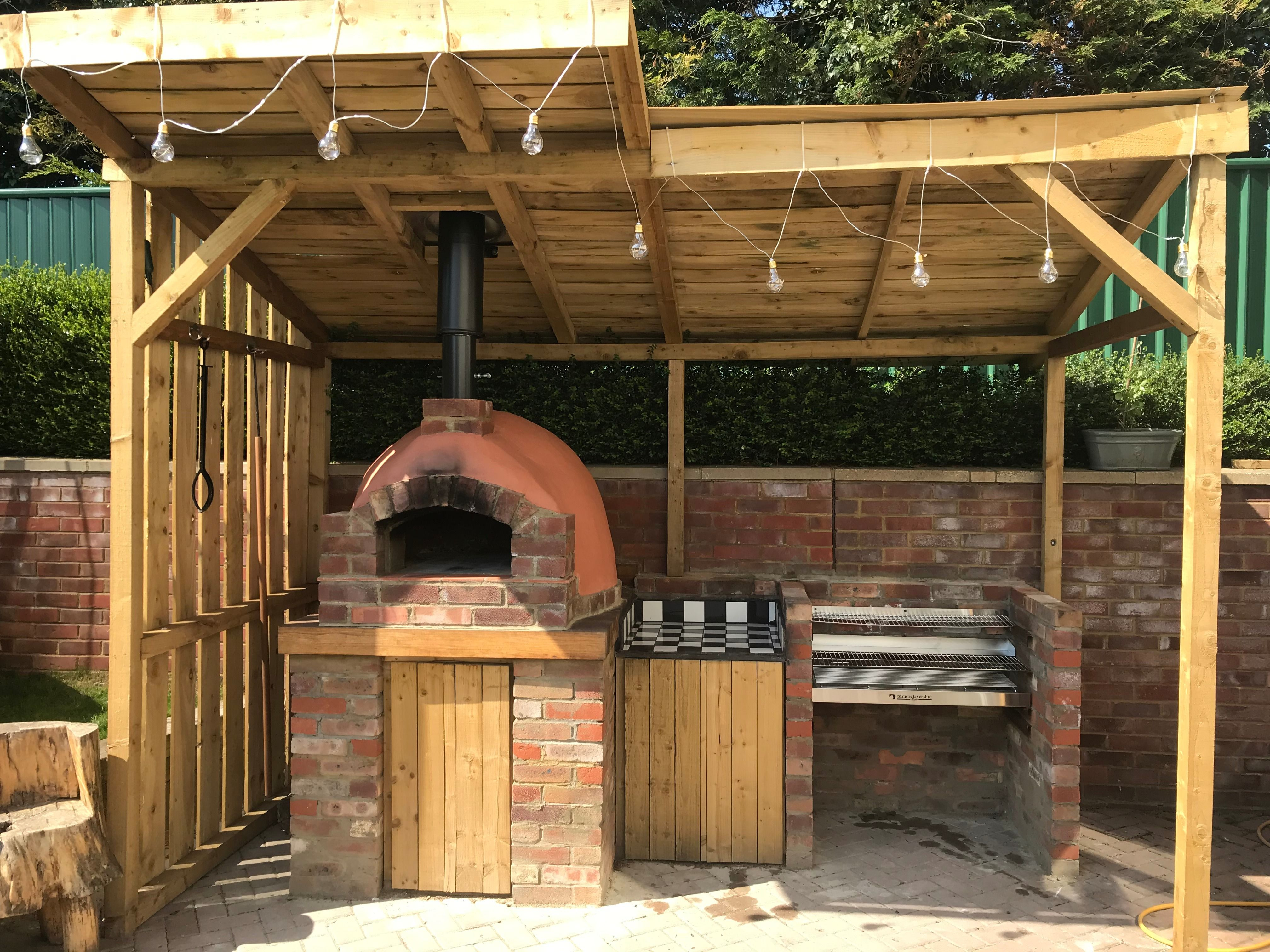Outdoor Kitchen and Pizza Oven Pizza oven outdoor, Pizza