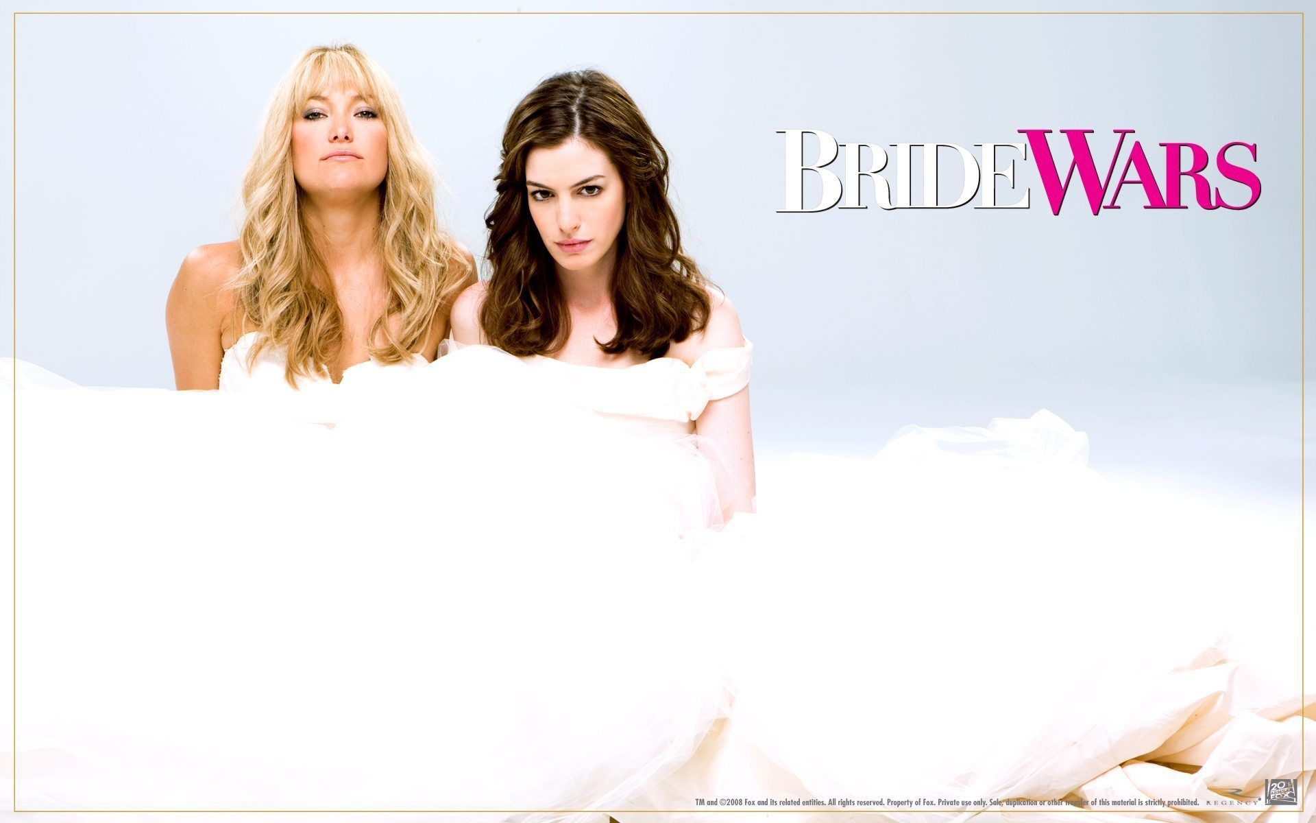 Bride Wars 2009 Comedy Two Best Friends Become Rivals When They Schedule Their Respective Weddings On The Same Day Bride Wars Wedding Movies Wedding Film