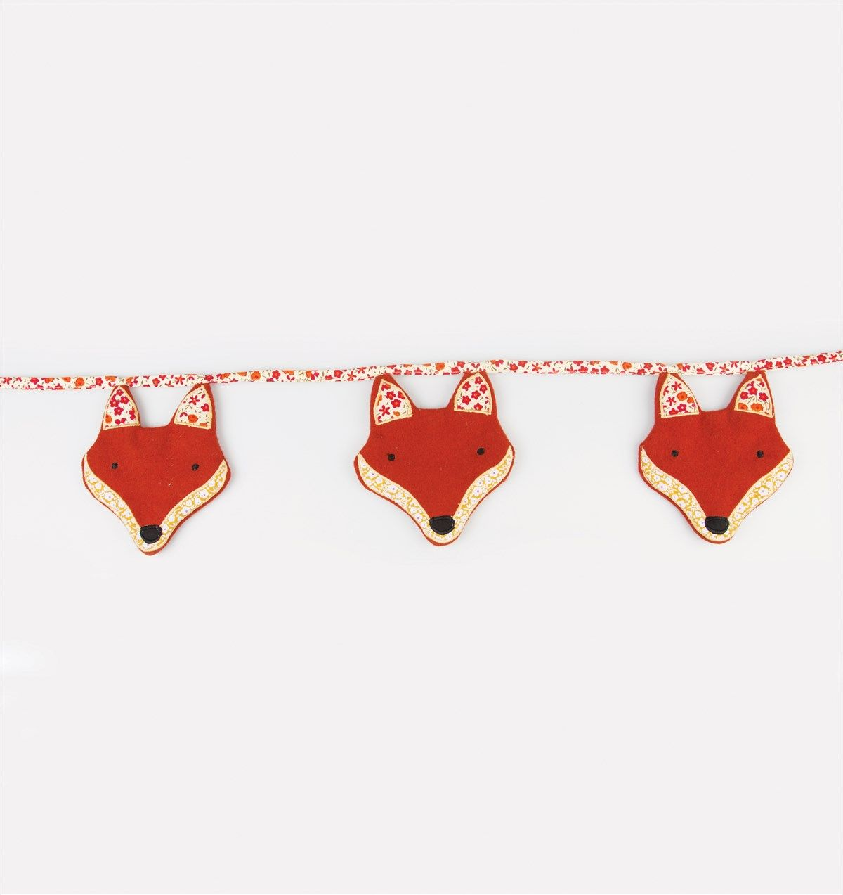 Paddy The Fox Fabric Bunting