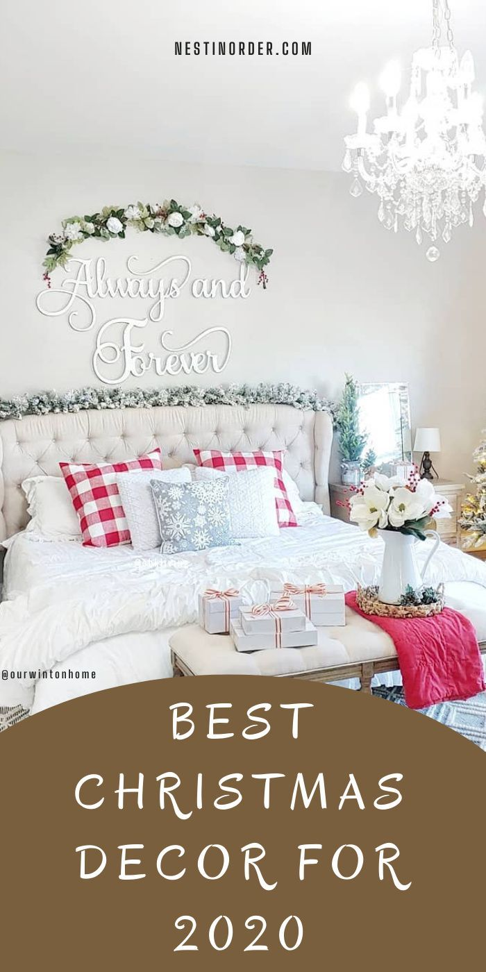 Best Christmas decoration ideas for your house! #christmasdecorationideas #christmas #nestinorder