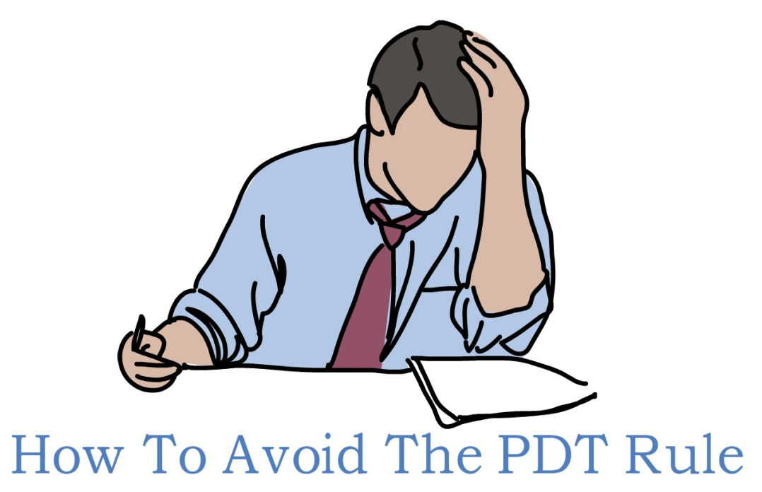 What Is The Pdt Rule And How To Avoid It