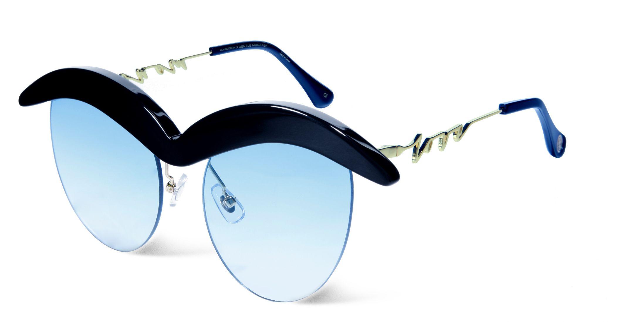 14144de918cf GENTLE MONSTER - FRIDA KAHLO 01(BL) - PUSHBUTTON X GENTLE MONSTER Latest  Sunglasses