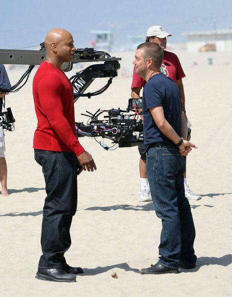 Chris O'Donnell Photo - LL Cool J And Chris O'Donnell Hit The Beach For 'NCIS: Los Angeles'