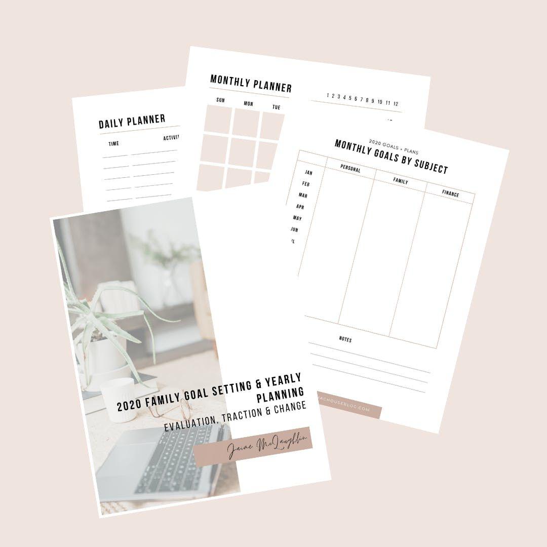 Family Goals Planning Workbook