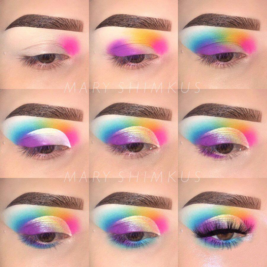 Want To Know More About Makeup Artists Eyemakeup Rainbow Eye Makeup Eyeshadow Makeup Creative Eye Makeup