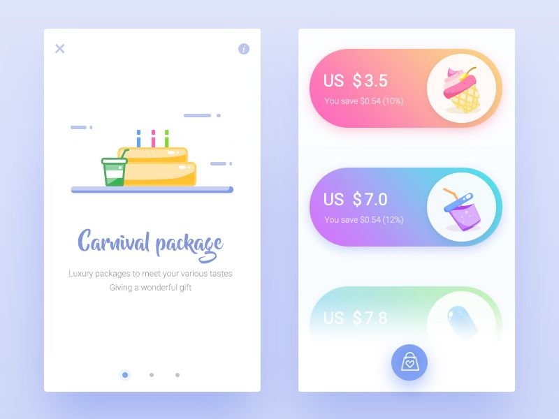 Here180_Shopping by Here180 - Dribbble