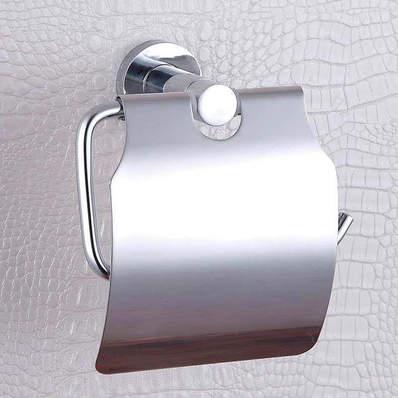 Paper Towel Box Simple Polished Chrome Wall Mounted 304 Stainless ...