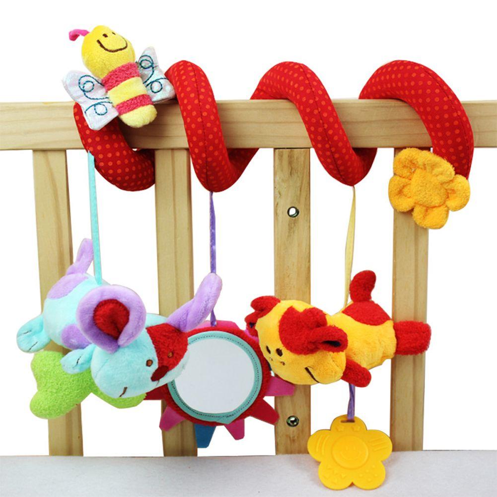 Lovely Animal Plush Toy Super Soft Multifunctional Baby Car Bed Crib ...