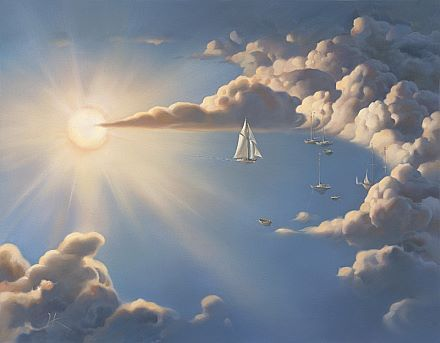 Haven by Vladimir Kush