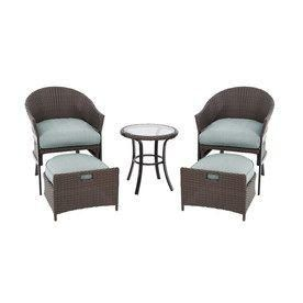 patio furniture for small spaces. perfect patio furniture for a small spacegarden treasures south point brown woven conversation set with cushions spaces