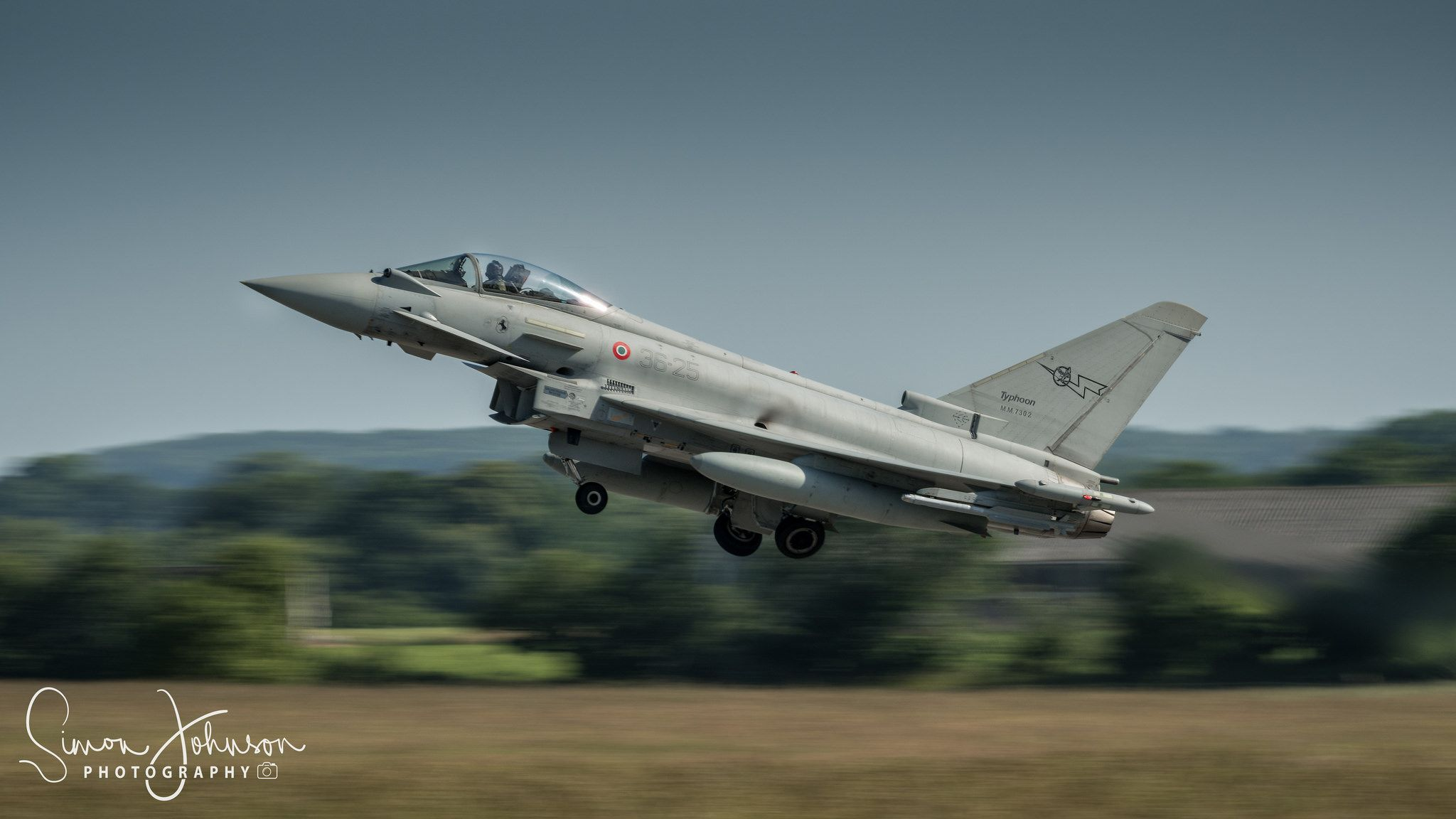 "https://flic.kr/p/WaUuhY | "" Quick Getaway "" | Italian Airforce Ef-2000 Eurofighter, Nato Tiger Meet 17."