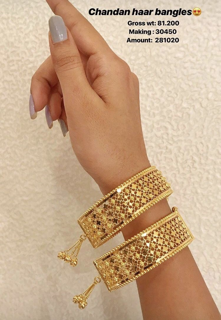 Pin by arifa on bangles pinterest bangle gold jewellery and gold