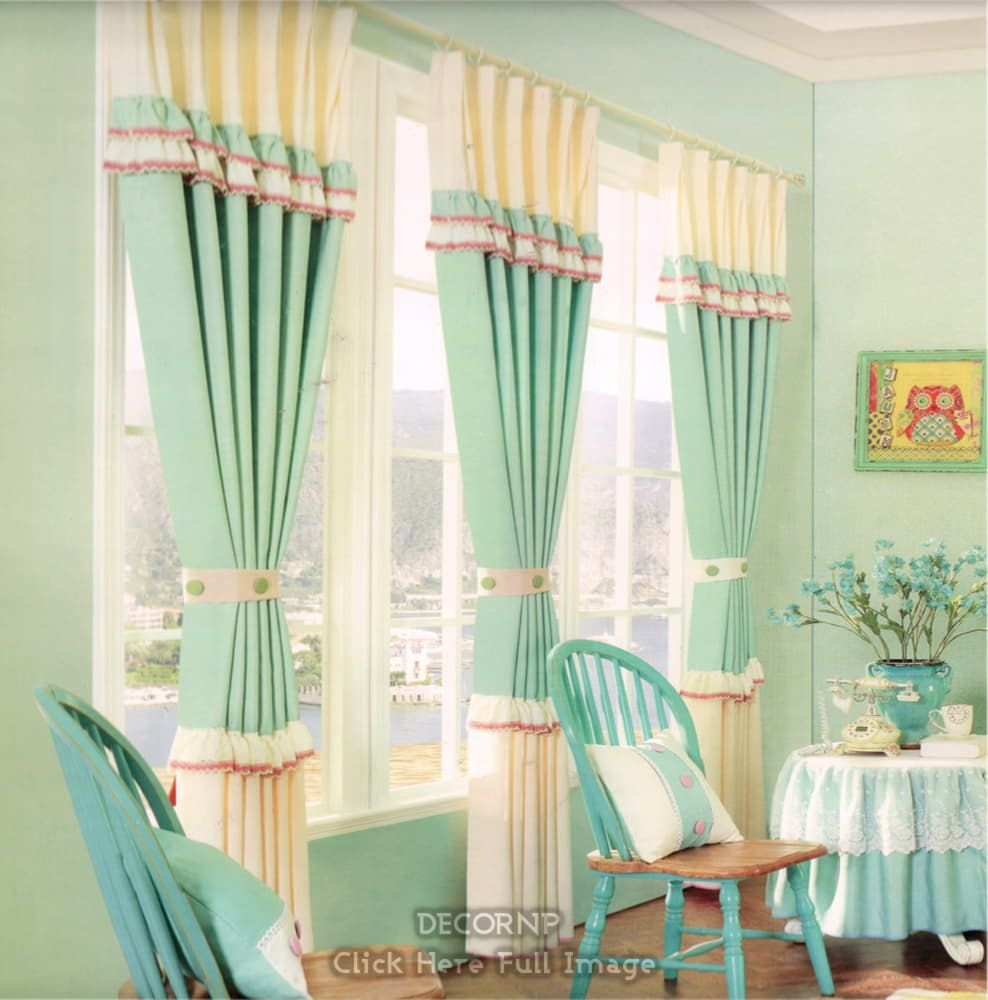 Lime Green Curtains 2019 – A Real Trend Statement