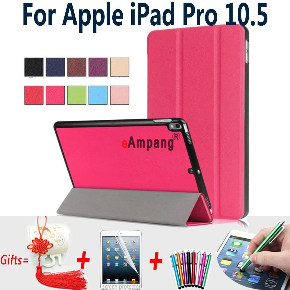 100 Top Quality Cases For Ipad Pro 10 5 Case Cover Magnet Trifold Pu Leather Cover For Apple Ipad Pro 10 5 Inch Case With St Apple Ipad Pro Ipad Case Ipad Pro
