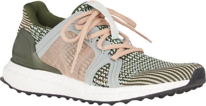 online retailer 06d43 68092 Adidas x Stella McCartney Crochet-Knit Running Sneakers