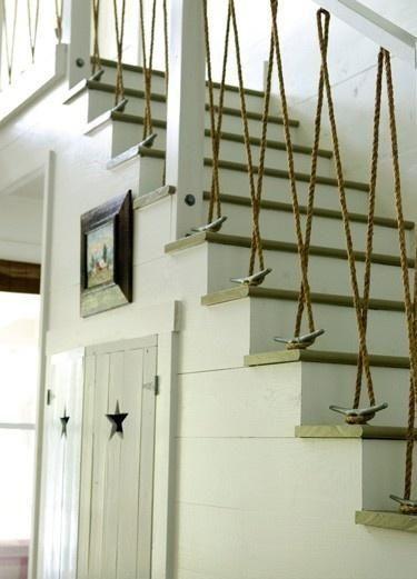 conseils et id es pour une rampe d 39 escalier et un garde corps d co et pas cher d co. Black Bedroom Furniture Sets. Home Design Ideas