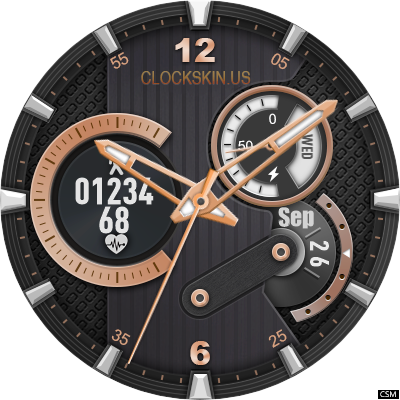 [Download] 209 Flyer Watch Face for MTK Android Smartwatch