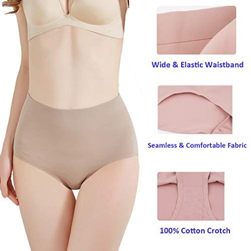 1124979f92 Ysabeloom Women Butt Lifter Shapewear Hi-Waist Tummy Slimmer Thong Panty  Seamless Body Shaper Shorts