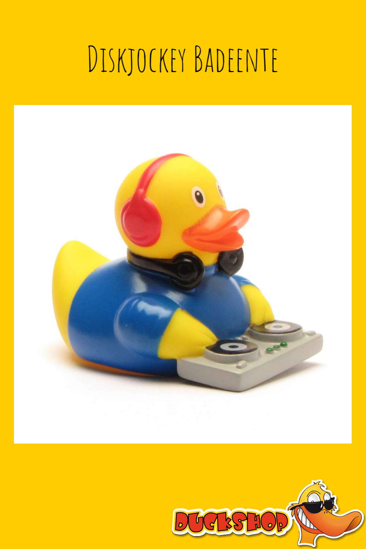 Diskjockey Badeente / Diskjockey rubber duck