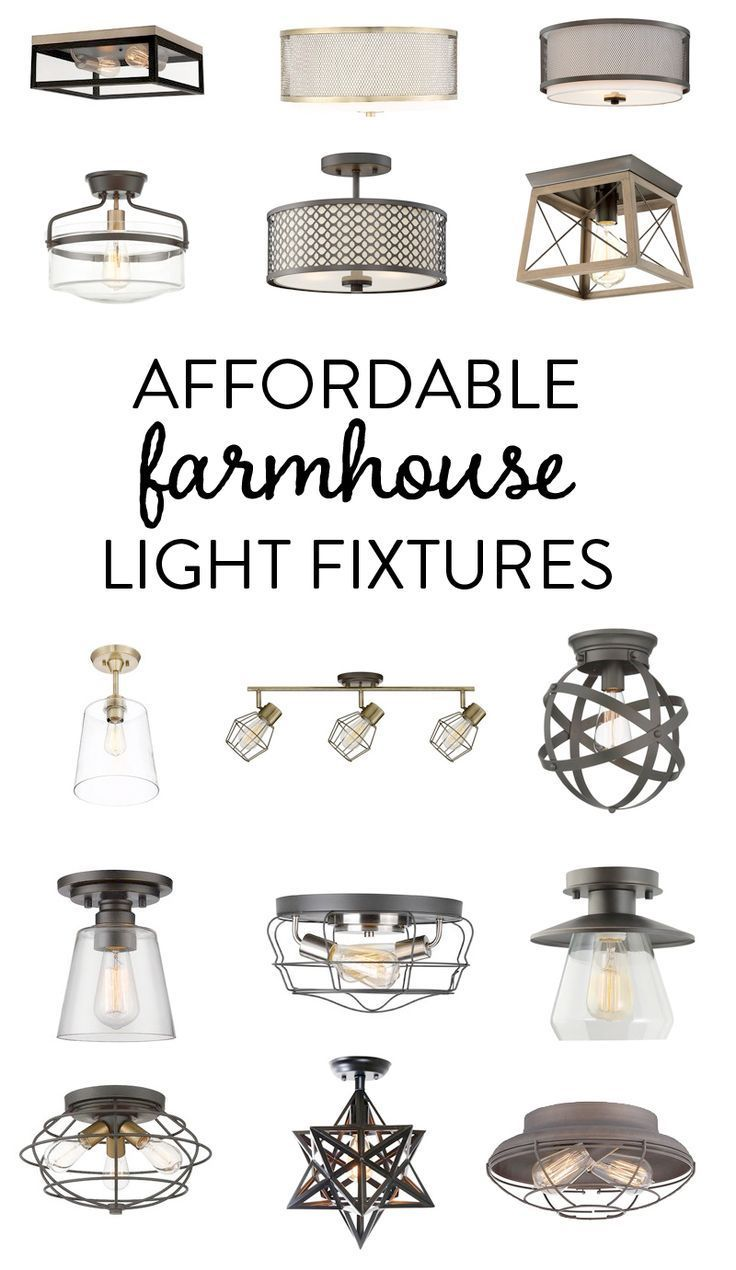 Photo of Affordable Farmhouse Light Fixtures#affordable #farmhouse #fixtures #light
