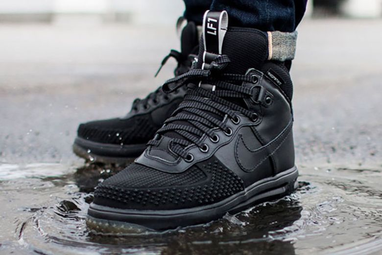 nike air force 1 lunar duckboot black