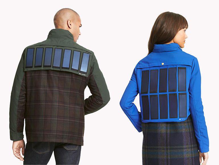 Solar Jackets by Tommy Hilfiger | wordlessTech