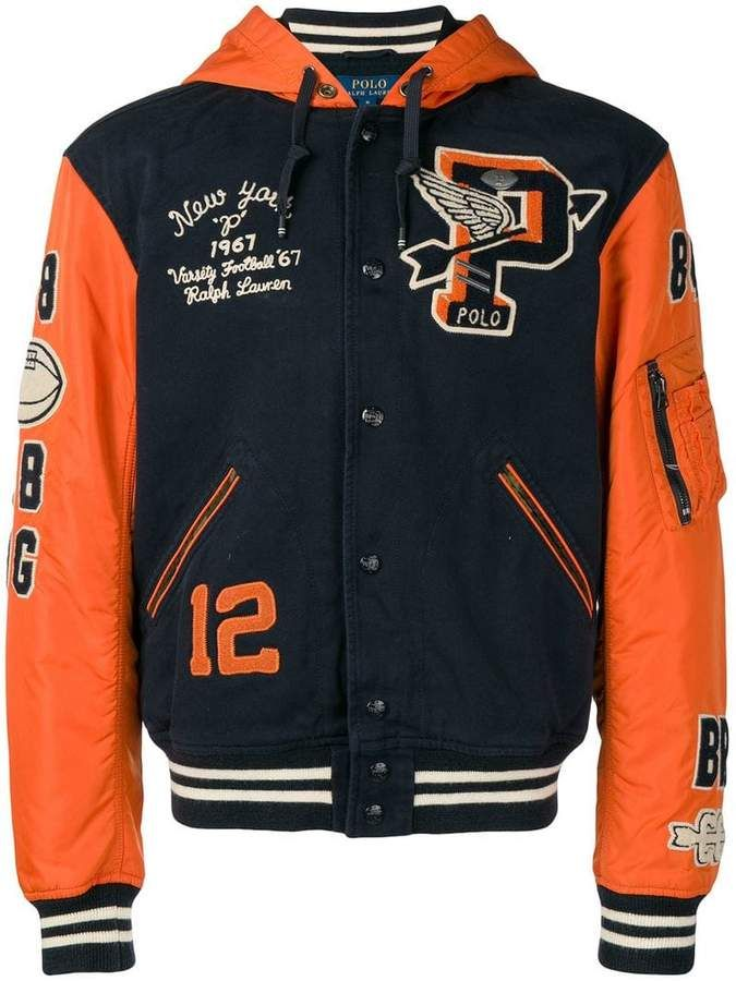 591969a27 Polo Ralph Lauren Ivy League bomber jacket | Products in 2019 ...